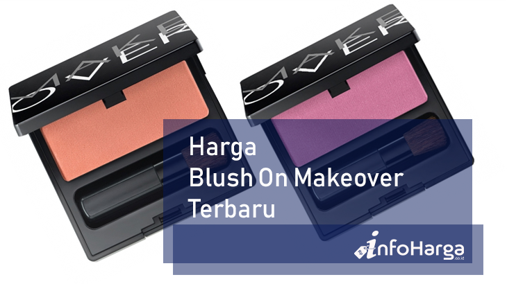 Harga Blush On Makeover